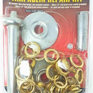 Tarpaulin Sheeting eyelet repair tool kit