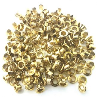 brass eyelets to fit 4mm eyelet pliers