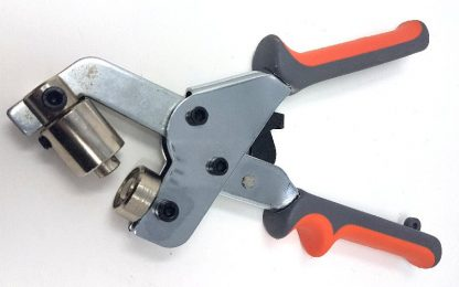 Hand Eyelet Pliers for fitting eyelets in banners