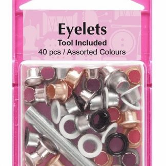 mixed colour eyelet setter