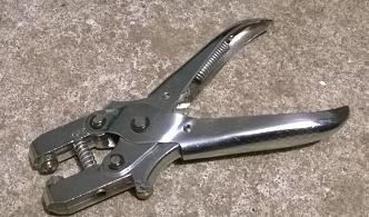 eyelet crimp press plier