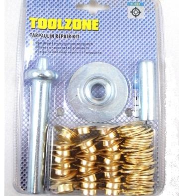 metal ring eyelet punching kit