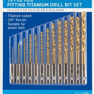 drill to fit power screwdrivers