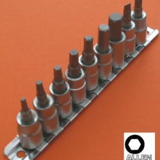 Metric Hex Socket Set